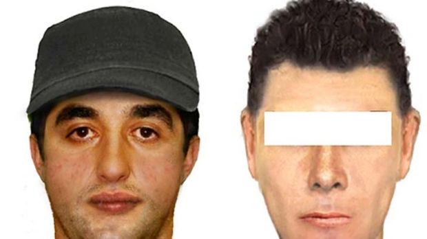 Images of two men police are looking for in relation to indecent exposures in Coburg.