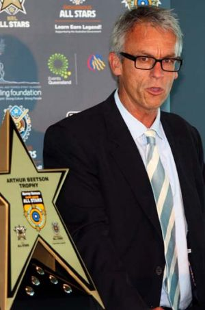Star performer ... David Gallop.