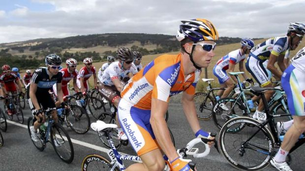 On the road again … Mark Renshaw plans to take down world champion Mark Cavendish this year.