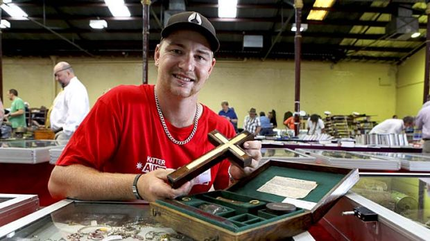 Big show and tell as collectables go for big bucks for Pool show rna showgrounds