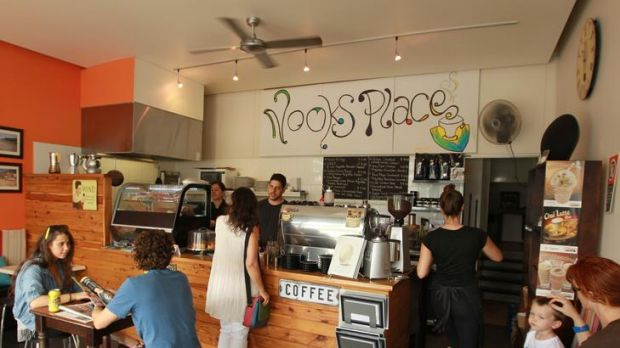 Bright and breezy ... Nooks Place boasts an impressive all-day breakfast menu and good coffee.