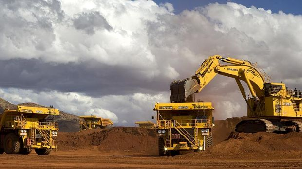 The automated mining trucks at Rio Tinto's West Angelas mine take themselves to refueling stations when they need a re-fill.