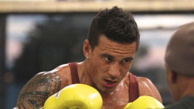 """I went a bit too hard one day ... pulled my hammy"" ... Sonny Bill Williams."