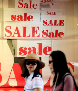 Retail figures are in 'dangerous territory'.