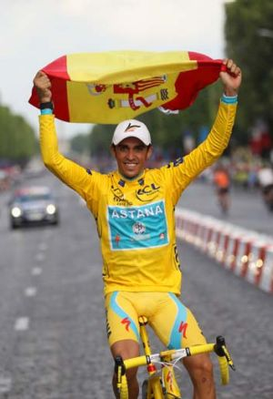 Contador won't be able to compete in the London Olympics.