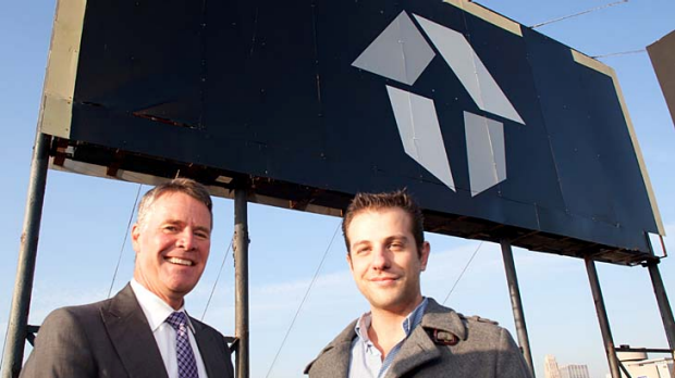NSW Deputy Premier Andrew Stoner in San Francisco with Elias Bizannes, one of the founders of StartupHouse.