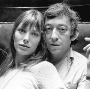 True romance ... Birkin and Serge Gainsbourg were together for 13 years.