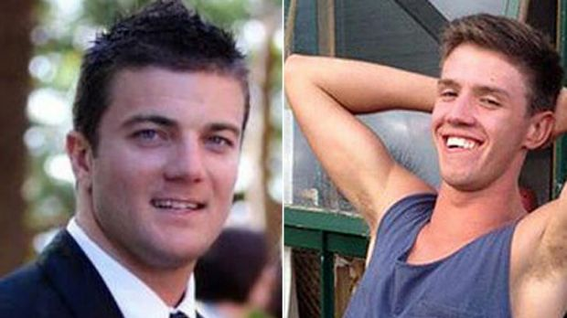 Lee Hudswell, left, and Daniel Eimutis. Both men died while holidaying in Laos.
