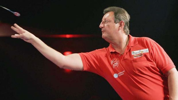 Eric Bristow ... had a case of the yips.