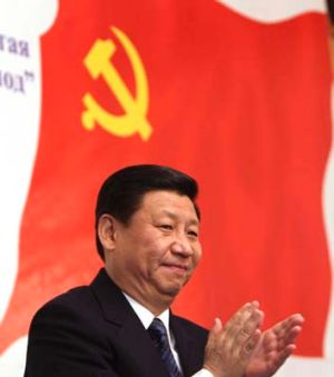 Jolly good show ...   Xi Jinping's rise to the top ranks of the Communist Party has been helped along by his wife's ...