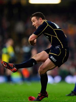 Greig Laidlow scored all of Scotland's points.