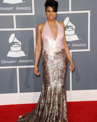 Taraji P. Henson at the Grammy Awards.