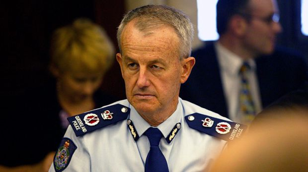Queensland Police Commissioner Bob Atkinson has released a statement indicating he has been fined for speeding.