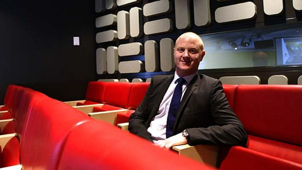 """CBA chief executive Ian Narev . . . """"we have no plans to send jobs offshore""""."""