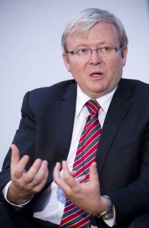 Kevin Rudd faced criticism when he shelved his emissions trading scheme in 2010.