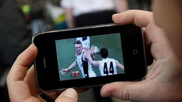 Optus's TV Now system aimed to offer streaming of sports contests with only a minor delay.
