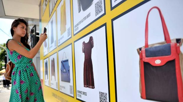 Smart buys … the Sportsgirl interactive pop-up billboard in Melbourne. The fashion retail chain will launch one in ...
