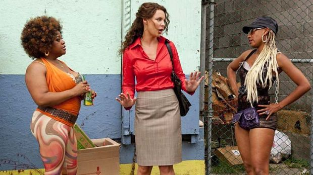 Trailer trash ... Katherine Heigl has some (but not enough) limits on the depths she will plumb.