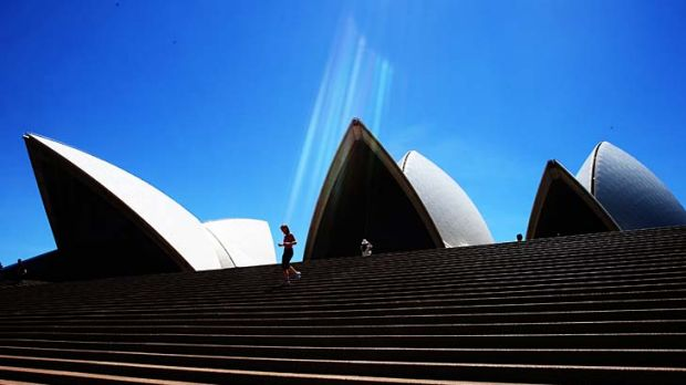 """The Sydney Opera House ... an """"iconic example of grand designs going awry."""""""