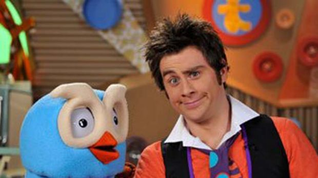 James Rees, the star of ABC's <em>Giggle and Hoot.</em>