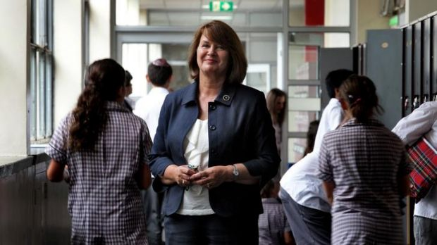 Disappointed: Glen Eira College's Lesley Lamb says she doesn't understand why private schools should get any government ...