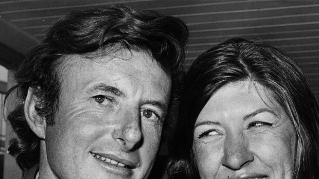 John Fairfax and then-girlfriend Sylvia Cook pictured in London in 1972. They survived the voyage but their romance ...