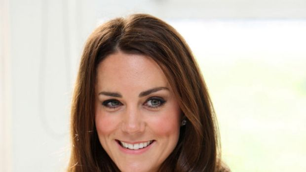 The Duchess of Cambridge let the secret slip out during a visit to a primary school in Oxford.
