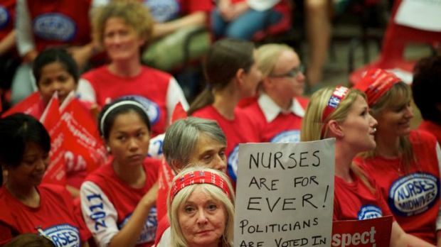 Nurses vote to escalate work bans at Festival Hall.