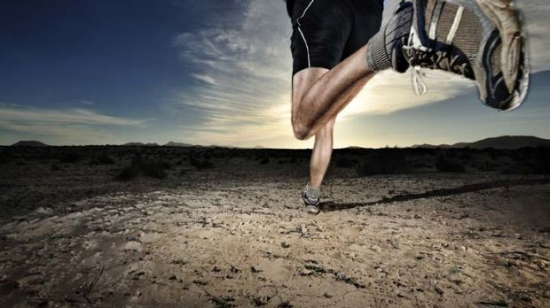 Feet of strength ... adapting your training regimen before the big race may help prevent injury.