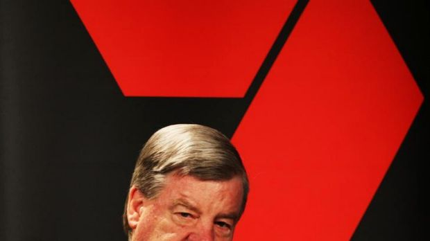 Seven West Media chief executive David Leckie: 'My humble opinion is that we are bouncing along the bottom and after ...