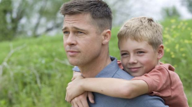 Wild card ... Brad Pitt stars in Terrence Malick's The Tree of Life.