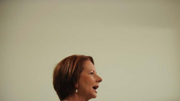 Julia Gillard … the Prime Minister has labelled the Rudd government as the ''days of dysfunction''.