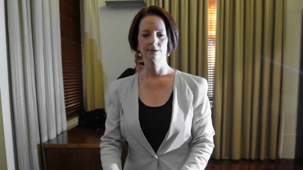 """""""This is not an episode of Celebrity Big Brother"""" ... Julia Gillard."""