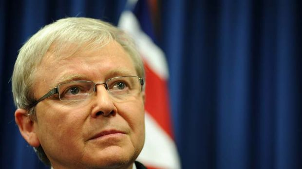Kevin Rudd ... mandarin-speaking MP.