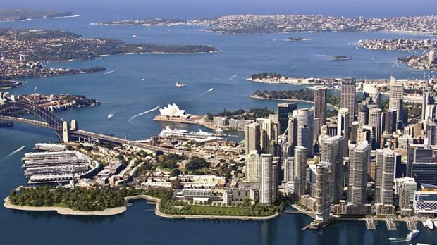 Positive outlook … an artist's impression of the Barangaroo development.