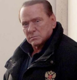 Denied any wrongdoing ... Silvio Berlusconi.