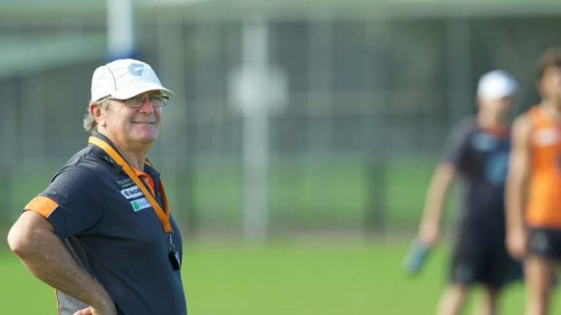 Man with a plan: GWS coach Kevin Sheedy.