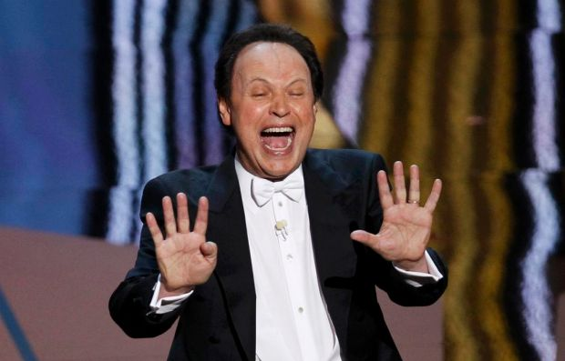 Oscars host Billy Crystal in his opening number.