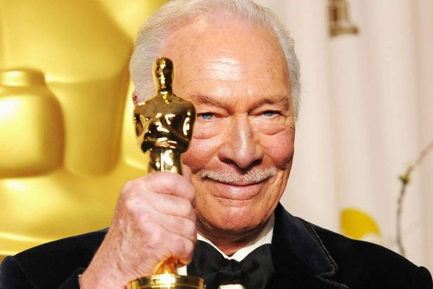 """""""Where have you been all my life?"""" ... 82-year-old Christopher Plummer asked of his Oscar after winning best supporting ..."""