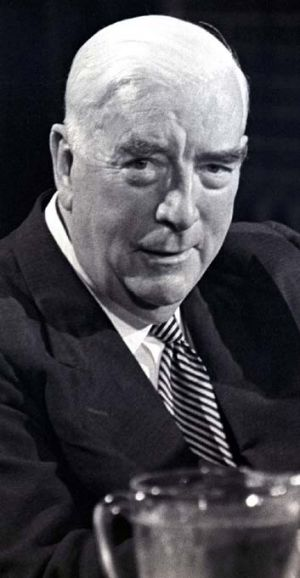 """""""I'll lie down and bleed awhile"""" ... Robert Menzies."""
