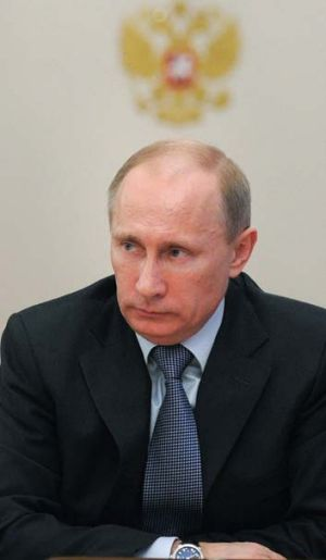 Soon to be president ... Russian Prime Minister Vladimir Putin.