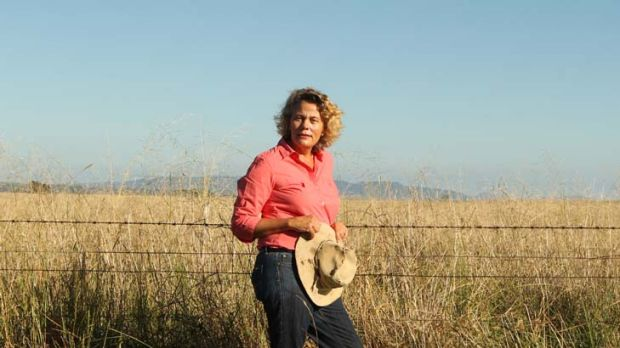 ''We've seen a lot of people leaving rural and regional Australia'' … Fiona Simson on her property on the ...