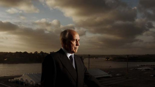 Paul Keating ... says a casino should not be built on an area ear-marked for public space.