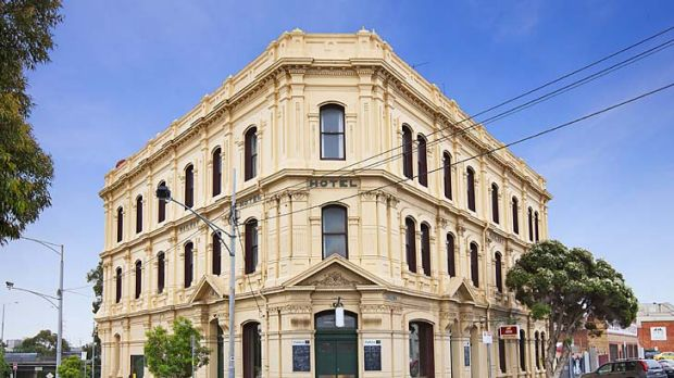 The Railway Hotel, West Melbourne, is in an area that has undergone significant transformation in recent years.