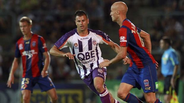 Quick deal … Perth Glory's Mile Sterjovski is off to China.