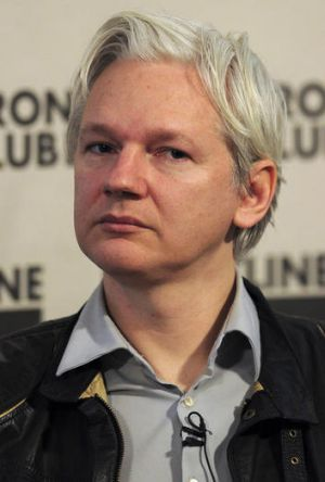 WikiLeaks founder Julian Assange announces the release of confidential emails from US-based intelligence firm Stratfor.