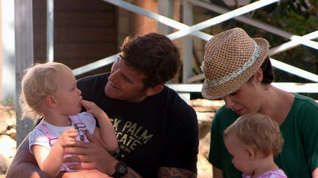 IVF parents  ... Ben Roberts-Smith at home with his wife children in a profile featured on Channel Seven's Sunday Night ...