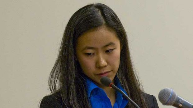 """Key witness Molly Wei in court ...  """"Initially we were saying we couldn't tell anyone what happened."""""""