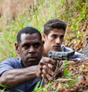 ABC's <i>The Straits</i> features mostly non-Anglo actors such as Jimi Bani (left) and Firass Dirani.
