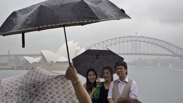Harbour from the storm … a trip to see the sights becomes memorable for all the wrong reasons as the city's ...